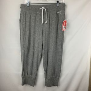 Filas Grey Women's Joggers, New With Tag